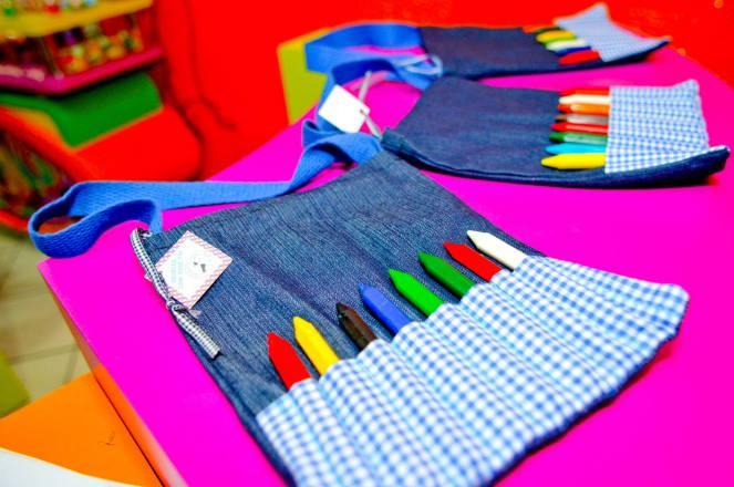 Sacolinha - Kit Pintura Jeans